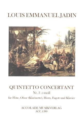 QUINTETTO CONCERTANT No.3 in C minor