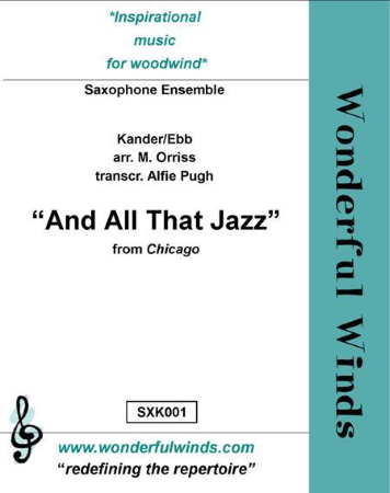 AND ALL THAT JAZZ (score & parts)