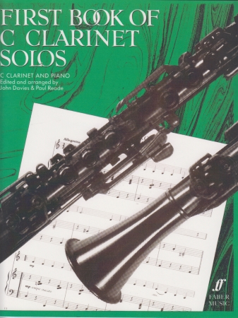 FIRST BOOK OF C CLARINET SOLOS