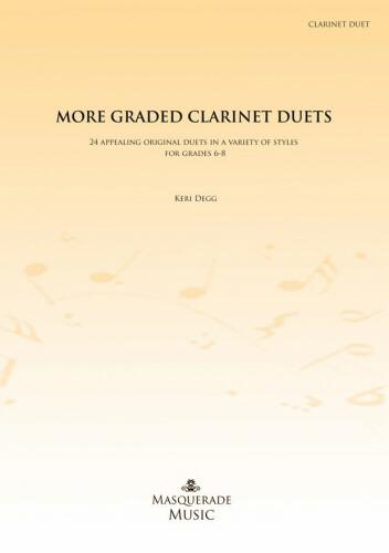 MORE GRADED CLARINET DUETS Grades 6-8