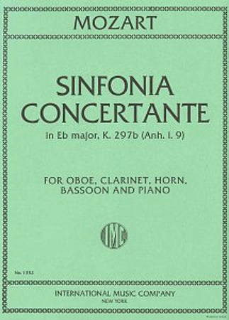 SINFONIA CONCERTANTE in Eb KV297b