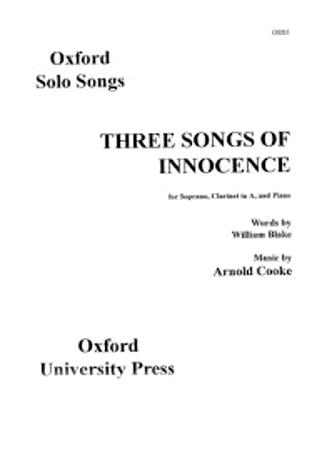 THREE SONGS OF INNOCENCE