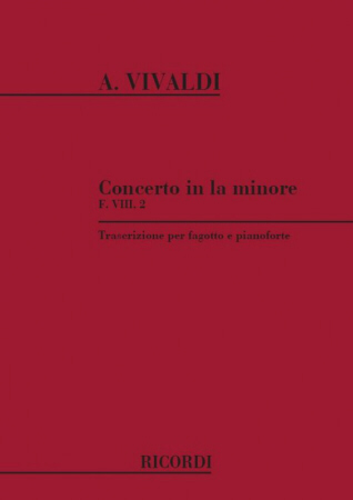 CONCERTO in A minor FVIII/2 PV70 RV498 Op.45 No.3