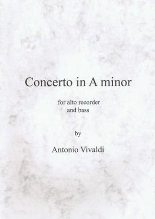 CONCERTO in A minor RV108