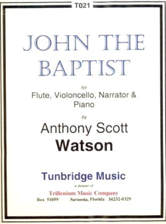 JOHN THE BAPTIST score & parts