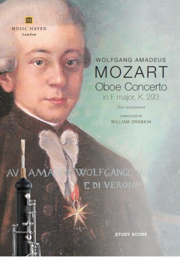 OBOE CONCERTO in F major K293, 1st Movement - Score