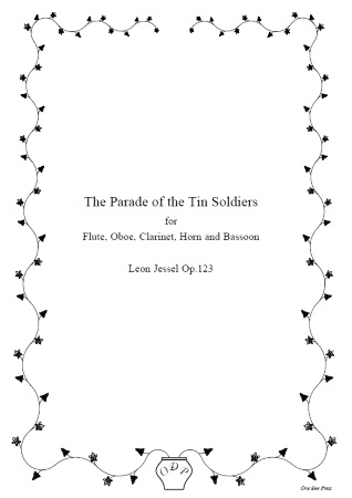 PARADE OF THE TIN SOLDIERS Op.123 (score & parts)