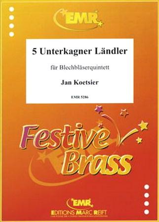 5 UNTERKAGNER LANDLER (score & parts)