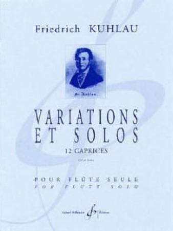 VARIATIONS ET SOLOS 12 Caprices Op.10 bis