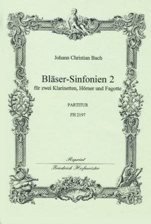 BLASER-SINFONIEN Volume 2 Nos.4-6 (score)