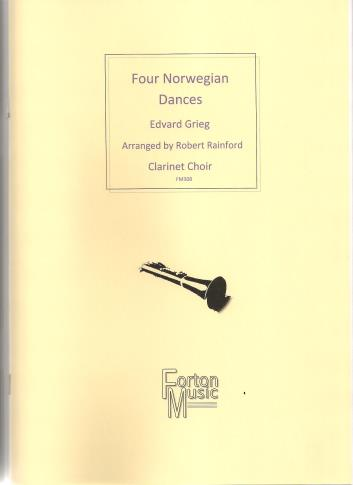 FOUR NORWEGIAN DANCES (score & parts)