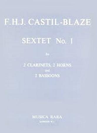 SEXTET No.1 in Eb major (score & parts)