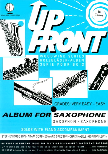 UP FRONT ALBUM for Bb Saxophone