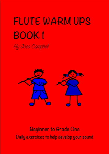 FLUTE WARM UPS Book 1