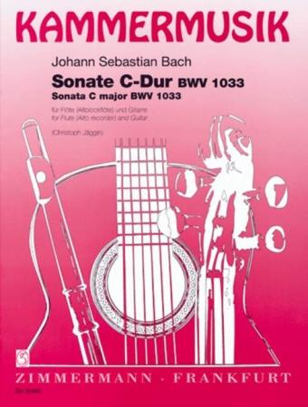 SONATA in C BWV 1033