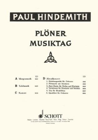 MORGENMUSIK Part 2 (B flat/C Trumpet)