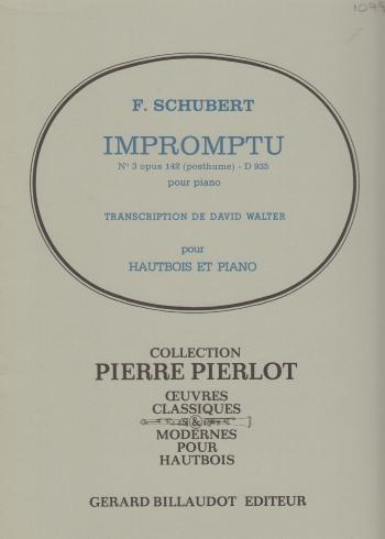 IMPROMPTU No.3 Op.142 (posth.)