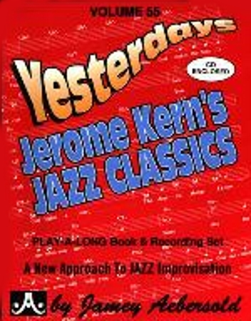 YESTERDAYS Volume 55 + CD Jerome Kern classics