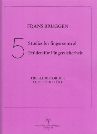 FIVE STUDIES FOR FINGER CONTROL