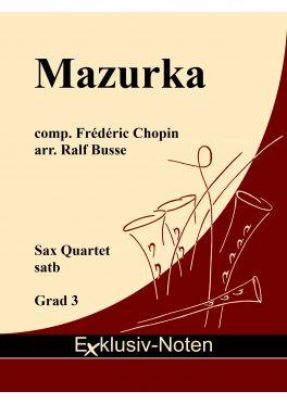MAZURKA Op.68 No.3 (score & parts)