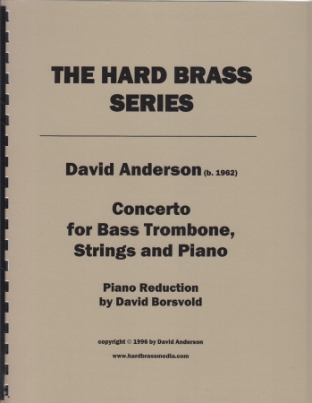 CONCERTO for Bass Trombone