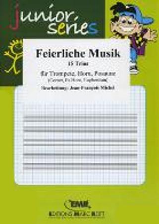 FEIERLICHE MUSIC: Trio Album (trombone treble clef)