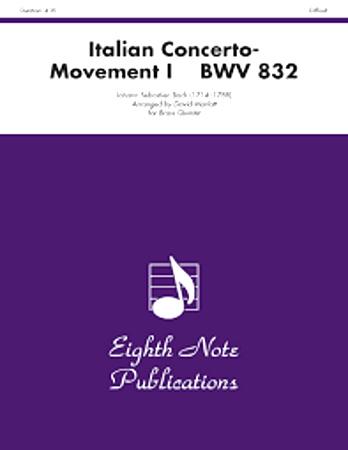 ITALIAN CONCERTO BWV 832 1st Movement