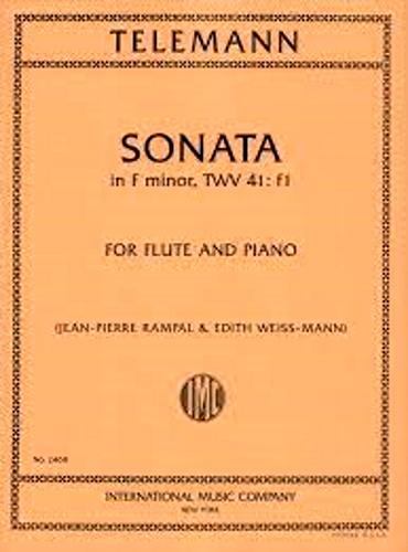 SONATA in F minor TWV 41: f1