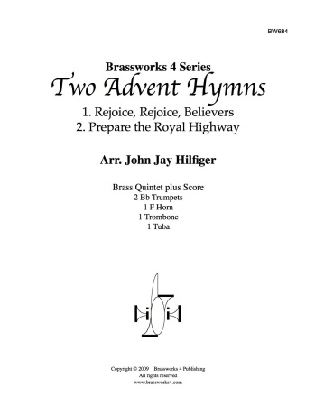 TWO ADVENT HYMNS