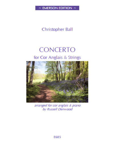 CONCERTO for Cor Anglais - Digital Edition