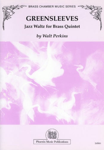GREENSLEEVES Jazz Waltz (score & parts)