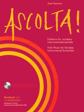 ASCOLTA! + CD Folk Music