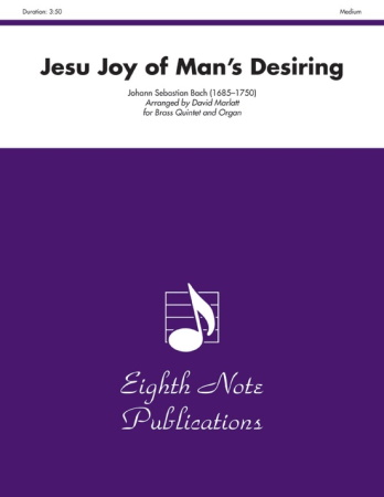 JESU JOY OF MAN'S DESIRING (score & parts)