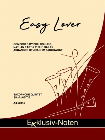 EASY LOVER (score & parts)