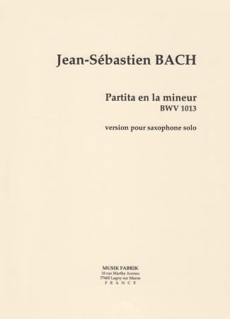 PARTITA in A minor BWV1013