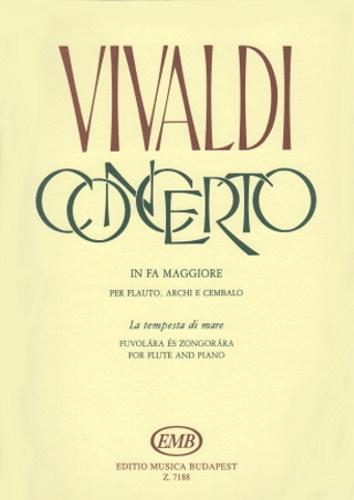 CONCERTO in F major Op.10 No.1 'La Tempesta di Mare' (RV433)