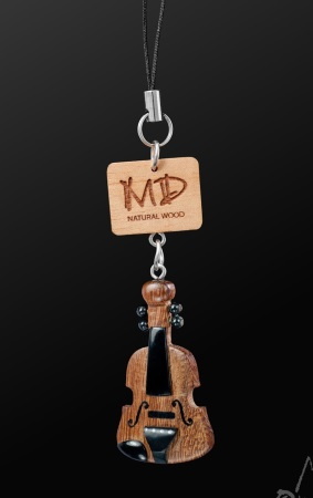 WOODEN STRAP Violin (Dark)