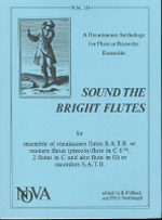SOUND THE BRIGHT FLUTES (parts only)