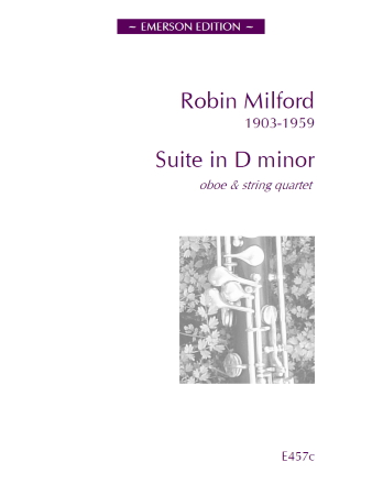 SUITE in D minor Op.8 (score & parts)