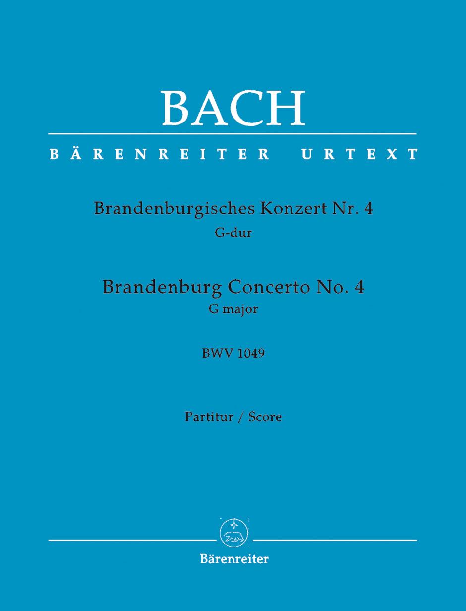 Brandenburg Concerto No.4 BWV1049 viola part