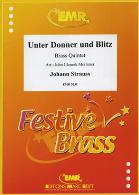 UNTER DONNER UND BLITZ (score & parts)
