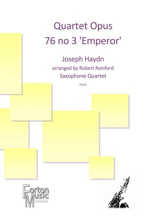 QUARTET Op.76 No.3 'Emperor Quartet'