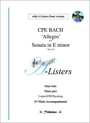 ALLEGRO (2nd Movement) from Sonata in E Minor (WQ124) + CD