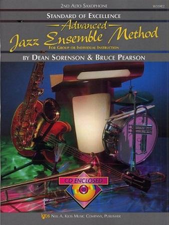 STANDARD OF EXCELLENCE Advanced Jazz Ensemble Method + CD 2nd alto sax