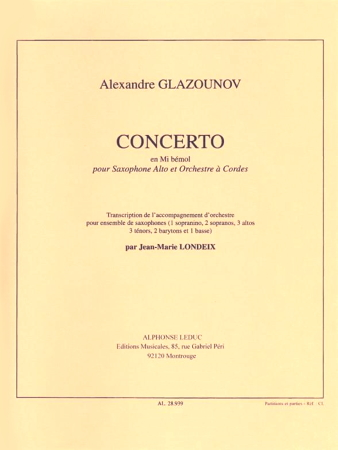 CONCERTO in Eb Op.109