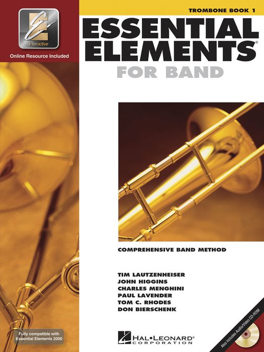 ESSENTIAL ELEMENTS Book 1 + Online Resources (bass clef)