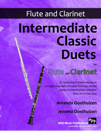 INTERMEDIATE CLASSIC DUETS for Flute & Clarinet