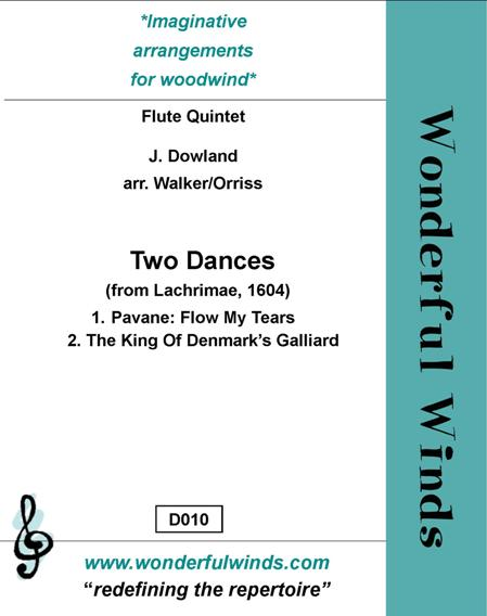 TWO DANCES from Lachrimae, 1604