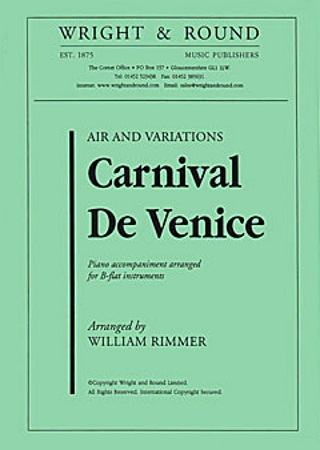 CARNIVAL OF VENICE Air and Variations