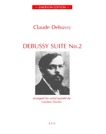 DEBUSSY SUITE No.2 set of parts